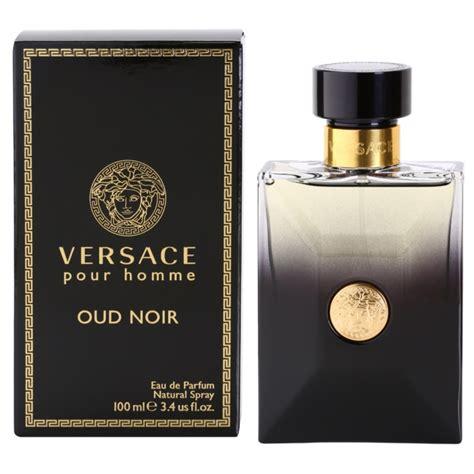 versace pour homme oud noir eau de parfum for 100 ml notino co uk