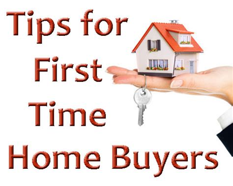 tips for time homes buyers