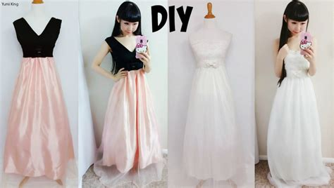 design clothes from scratch homemade prom dress ideas
