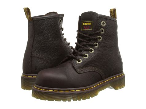 doc martens work boots dr martens work 7b10 st 7 eye boot at zappos