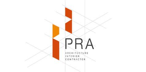 design competition for logo of architect pra architect interior contractor logo logomoose