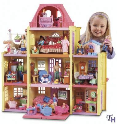 fisherprice doll house loving family twin time dollhouse by fisher price