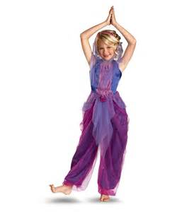 Drape Panel Garden Purple Genie Costume Schoolcostumes Org