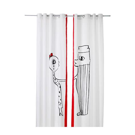 red curtains ikea lang 214 r curtains 1 pair ikea