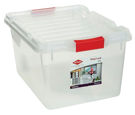 bathroom storage boxes with lids willow storage box 28l snap lock lid from storage box