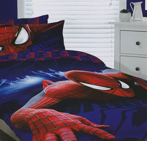 spiderman bed set amazing spider man quilt cover set spider man bedding