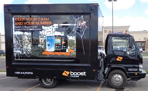 Tv Mobil Gmc custom glass box trucks experiential marketing event
