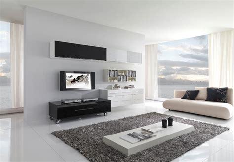 soggiorno bianco e nero 20 idee di design per arredare il soggiorno in bianco e