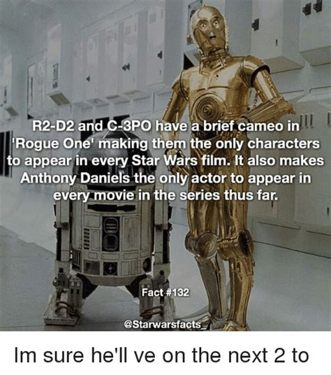anthony daniels rogue one cameo r2 d2 and c 3po have a brief cameo in rogue one making