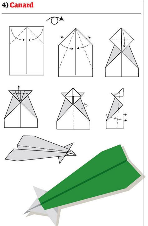 Simple Paper Airplanes - origami ideas