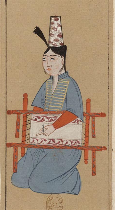 Turcs Ottomans by Recueil De Costumes Turcs Et De Fleurs Costume
