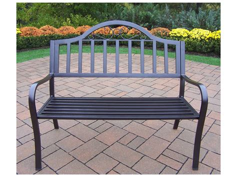 bench and bar oakland ca oakland living rochester wrought iron metal arm bench