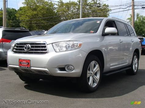 2009 Toyota Highlander Limited 2009 Toyota Highlander Limited 4wd In Classic Silver