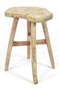 schemel vintage vintage wooden stool with and gray chippy paint