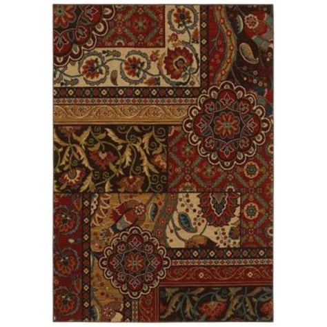 area rugs home depot home decorators collection keswick tomatillo 5 ft 3