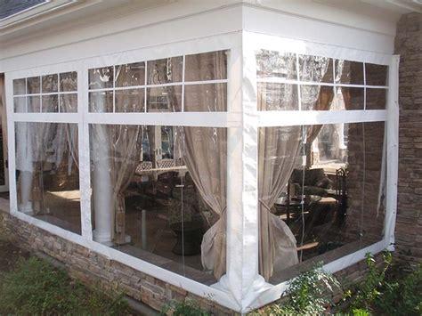 temporary patio enclosure winter icamblog