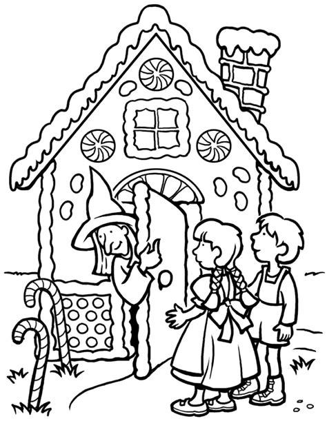 grimm tales coloring book coloriage hansel et gretel 224 imprimer