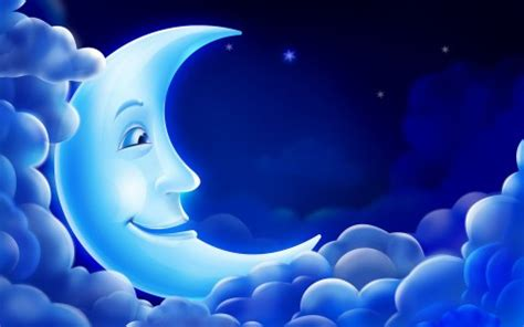 imagenes abstractas de la luna luna sonriente fondo de pantalla y escritorio hd gratis