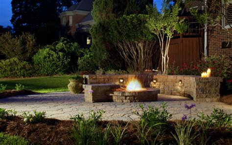outdoor feuerstelle how to choose install coastal landscape lighting