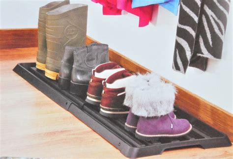 shoe dripper extendable shoe rack drip tray drip pan