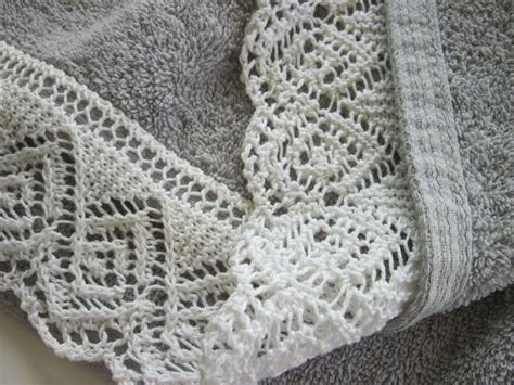 how to do lace knitting embroidery edging embellishments on knitting on