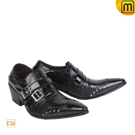 black boots mens shoes black leather dress shoes for cw760003