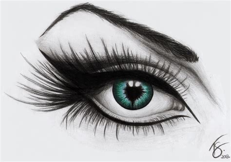 A Drawing Of An Eye by An Eye Drawing By Dotz On Deviantart