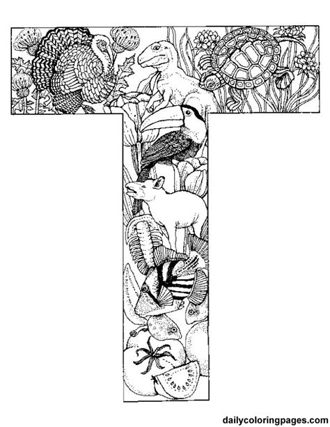 Letter J Coloring Pages For Adults by Animal Alphabet Letters To Print Each Letter Is Of