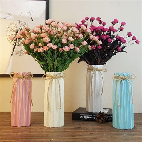 Living Room Flower Vase by Ceramic Vases Modern Decorative Flower Vase For