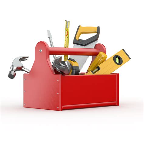 House Design Software Online For Free by Toolbox With Tools Skrewdriver Hammer Handsaw And