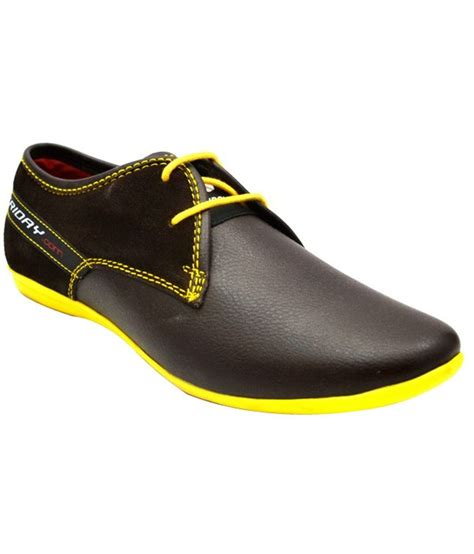 friday black smart casuals shoes price in india buy
