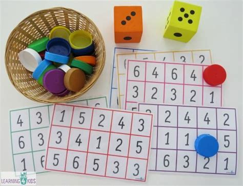 printable dice games for preschoolers subitising printable dice game number recognition