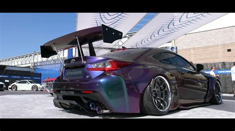 lexus rcf widebody wide pandem lexus rcf armytrix work wheels toyo