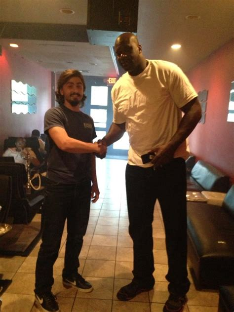 house of hookah met shaq at house of hookah gatech