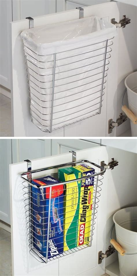 kitchen trash cans for small spaces 29 sneaky diy small space storage and organization ideas