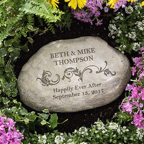 Engraved Garden Rocks Top 10 Engraved Wedding Gifts For Any Budget
