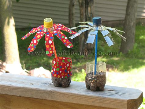 water bottle craft ideas for plastic water bottle flowers crafts by amanda
