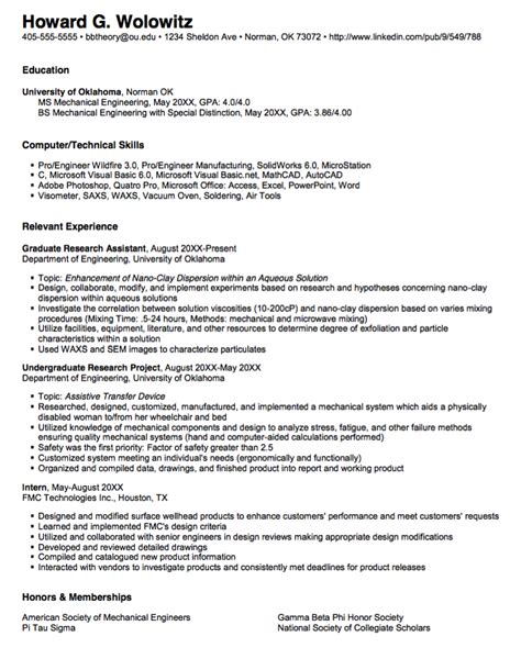 objective on a resume for graduate school resume pinterest