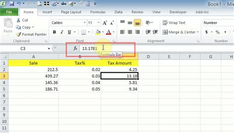 how to round up round down floating numbers in excel exceldatapro