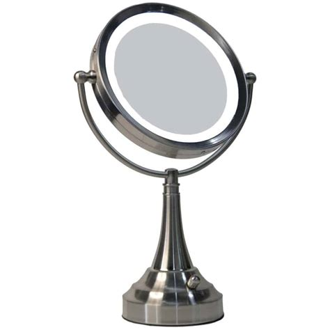 furniture lighted makeup mirror x magnifying mirror wall