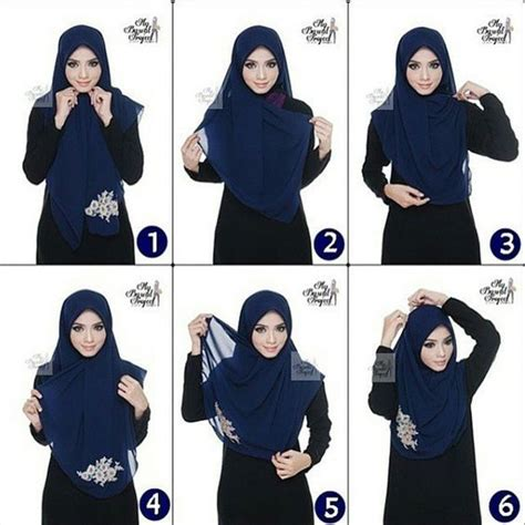 tutorial hijab segitiga formal 25 best ideas about tutorial hijab segitiga on pinterest