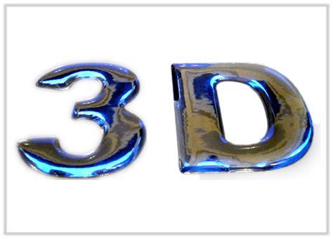 Klebebuchstaben Eigene Schrift by 3d Schriftz 252 Ge 3d Buchstaben Aufkleber