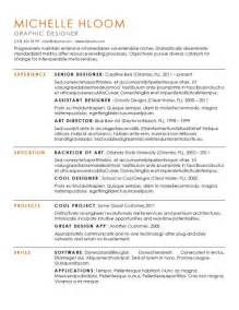 Resume Format Multiple Jobs by 15 Modern Design Resume Templates You Can Use Today
