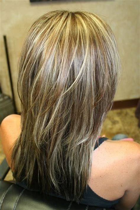 color highlights to blend gray into brown hair ways to blend gray in hair color dark brown hairs