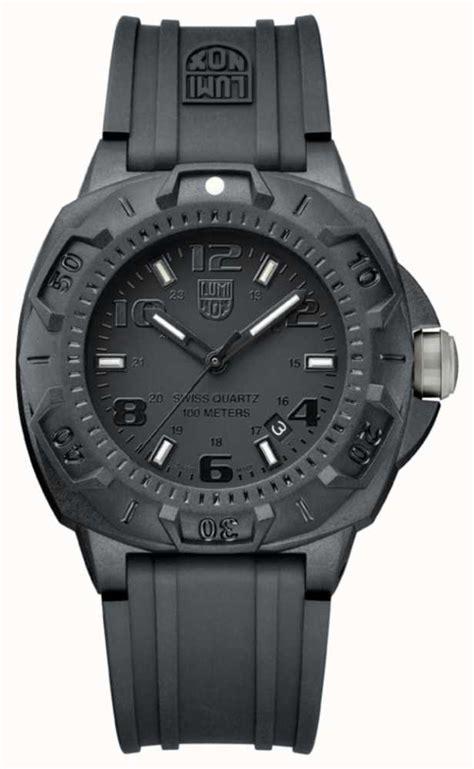 luminox sentry mens black xl 0201 bo class watches