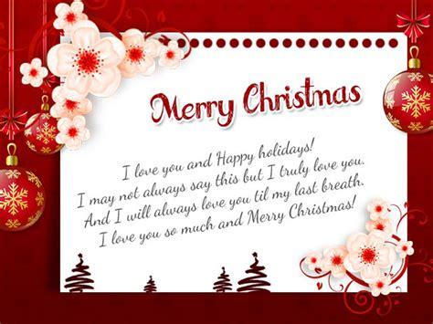 romantic christmas wishes  husband wishesmsg