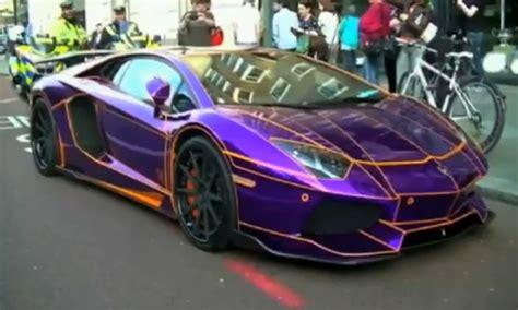 Pimped Lamborghini Qatari Prince S 500 000 Glow In The Lamborghini