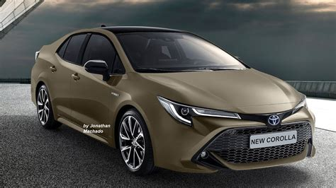 Toyota Gli 2020 by Render New 2020 Toyota Corolla 12th Generation Bmw