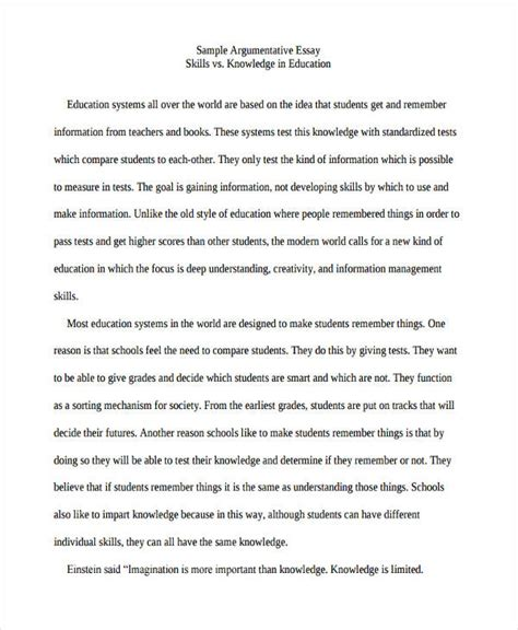 Essay About College Education by 29 Exles Of College Essays
