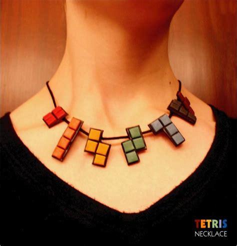 Tetris Necklace by Tetris Necklace By Tetris Gollum On Deviantart